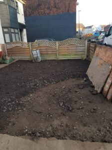 New driveway construction in halesowen